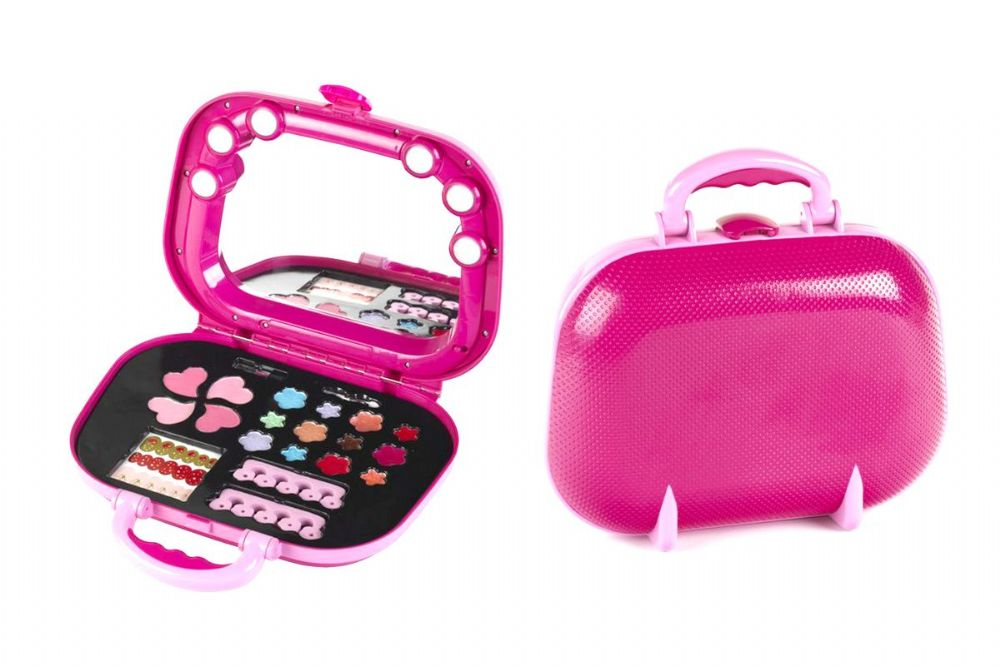 Klein Princess Coralie Cosmetics Traveller Case Set Childrens Kids Teens Make Up